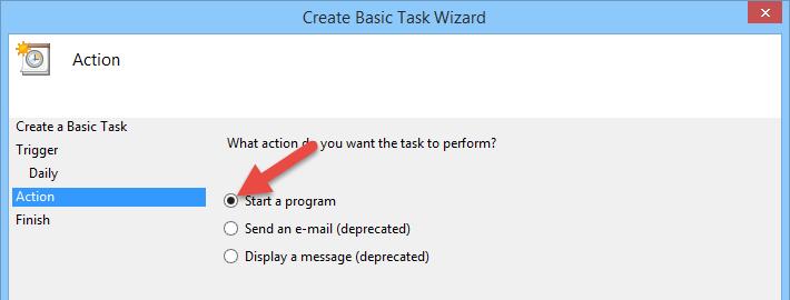 task start program